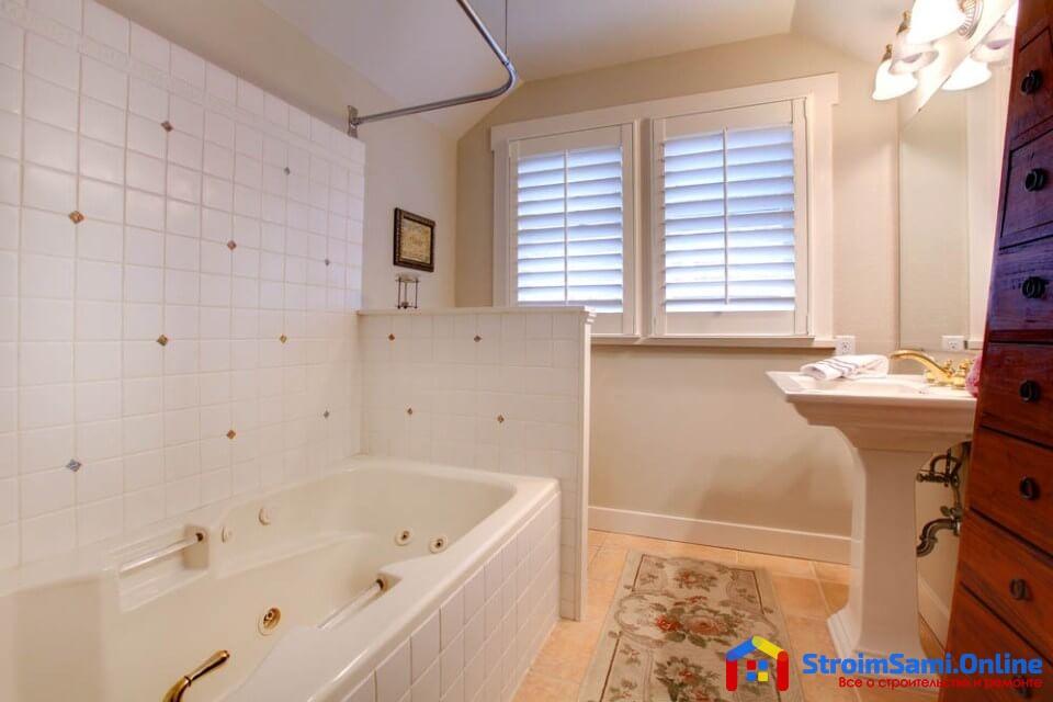 На фото: дизайн ванной комнаты