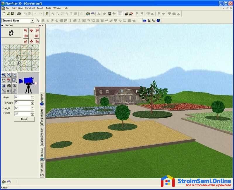 FloorPlan 3D - программа для проектирования