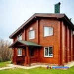 Эко-решения: строительство домов из бруса