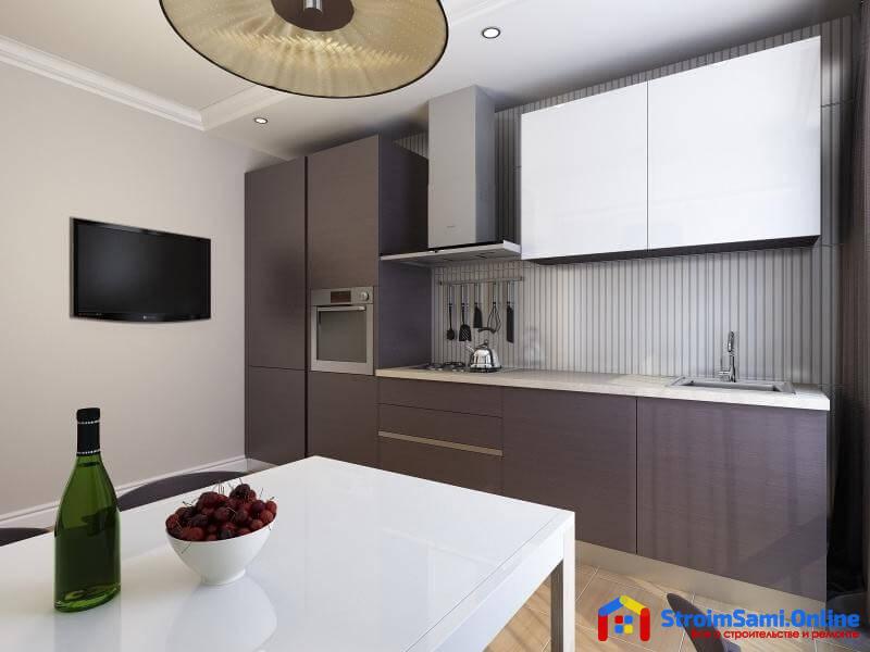 На фото: кухня в стиле минимализм