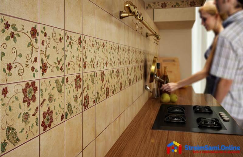На фото: материалы для отделки кухни