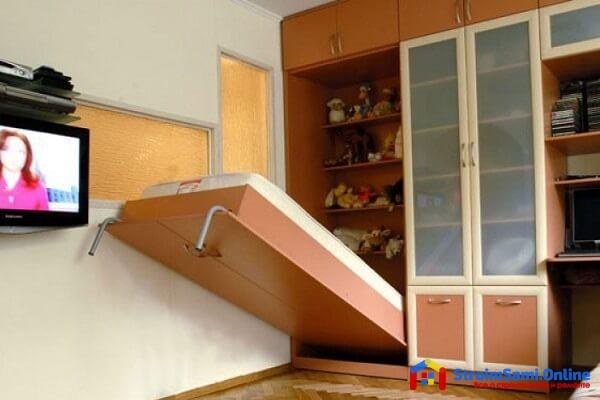 На фото: шкаф-трансформер