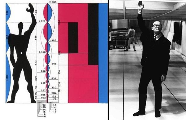 Модулор - система пропорций, разработанная архитектором Ле Корбюзье