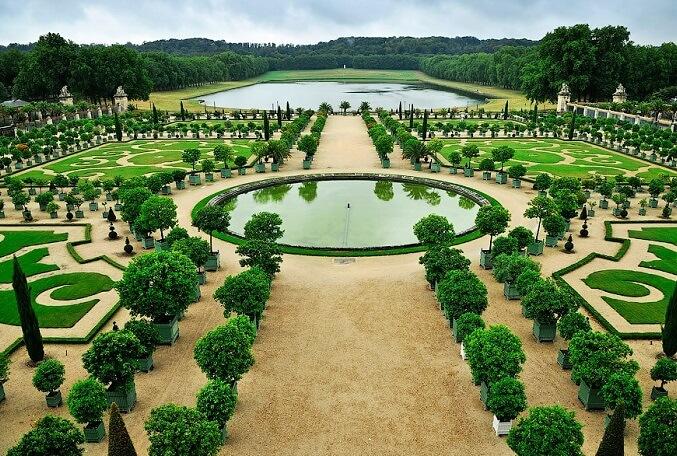 Регулярный стиль садово-паркового искусства