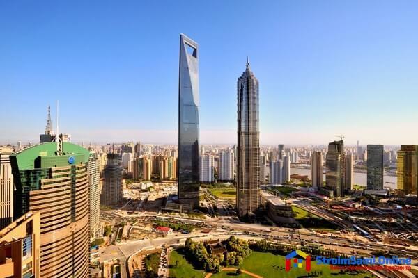 На фото: Шанхайский всемирный финансовый центр (SWFC)