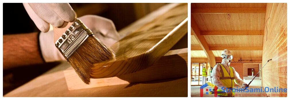 Фото 1. Для придания деревянному дому долговечности, необходимо защищать стены от внешнего воздействия.