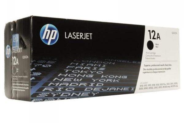 Краткий обзор картриджа hp Q2612A для лазерного принтера Hewlett-Packard