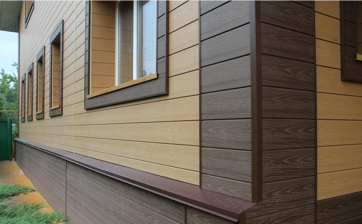 Облицовочные панели для отделки фасадов домов
