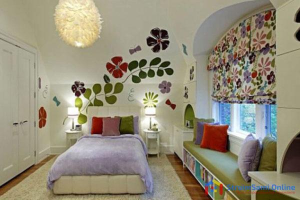 Декорирование детской комнаты своими руками