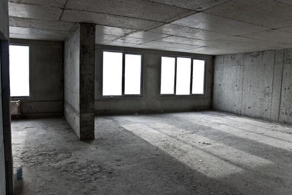 Квартира с черновой отделкой