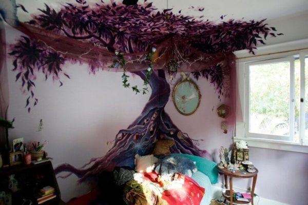 Необычное оформление стен в квартире