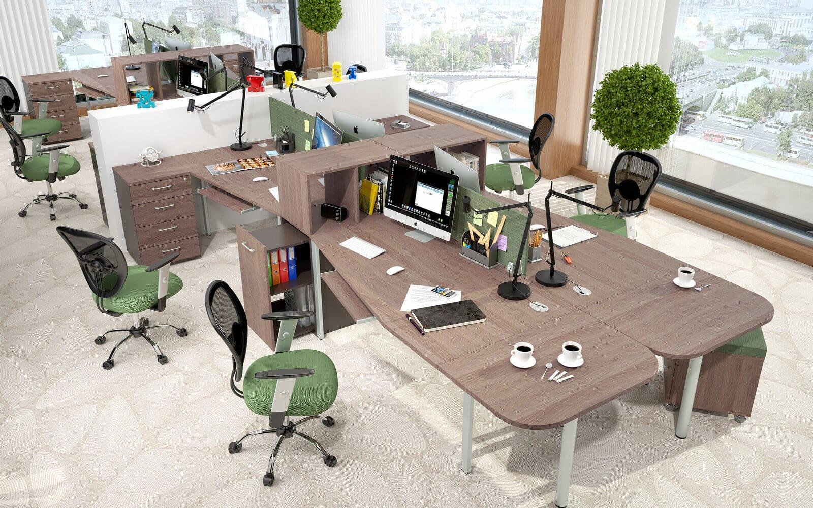 Эргономика офисной мебели