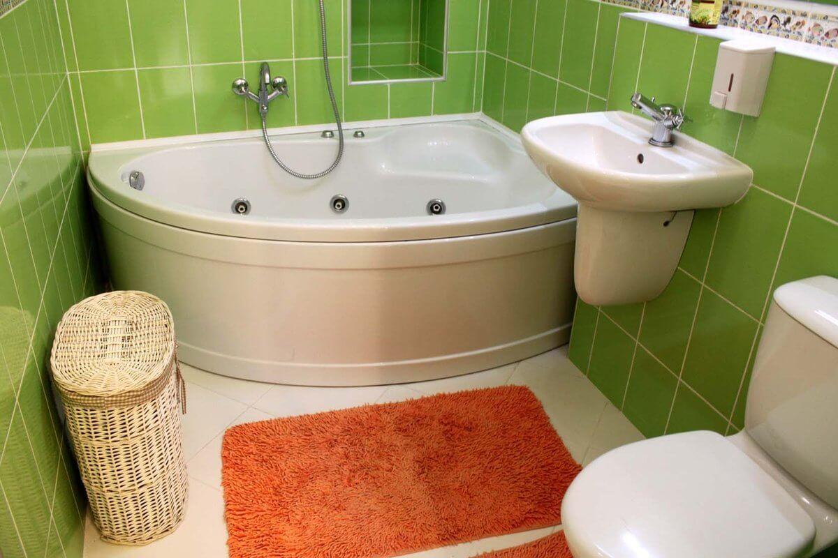 Ремонт в маленькой ванной комнате