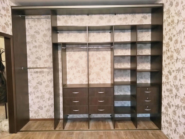 Шкаф-купе наполнение: фото реальных квартир
