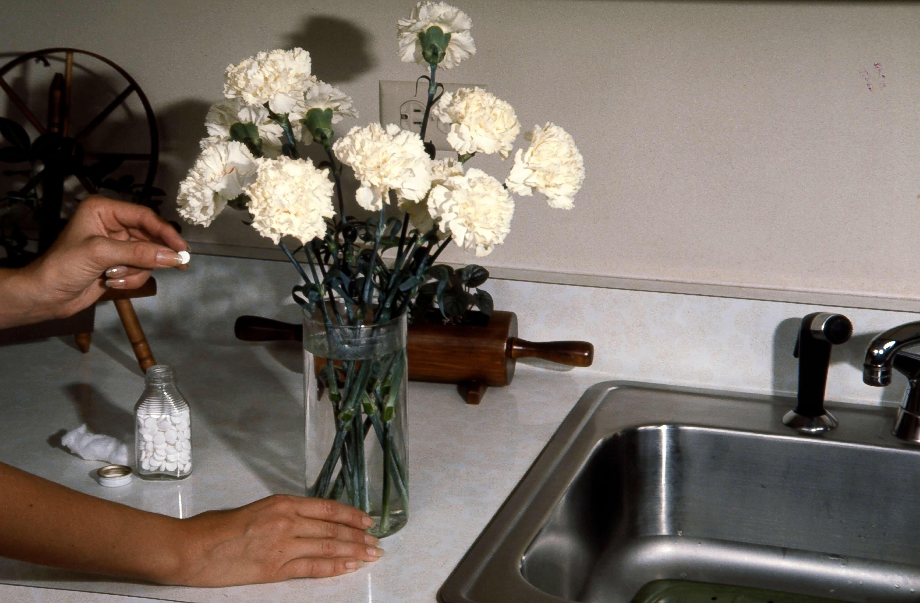 Аспирин для цветов