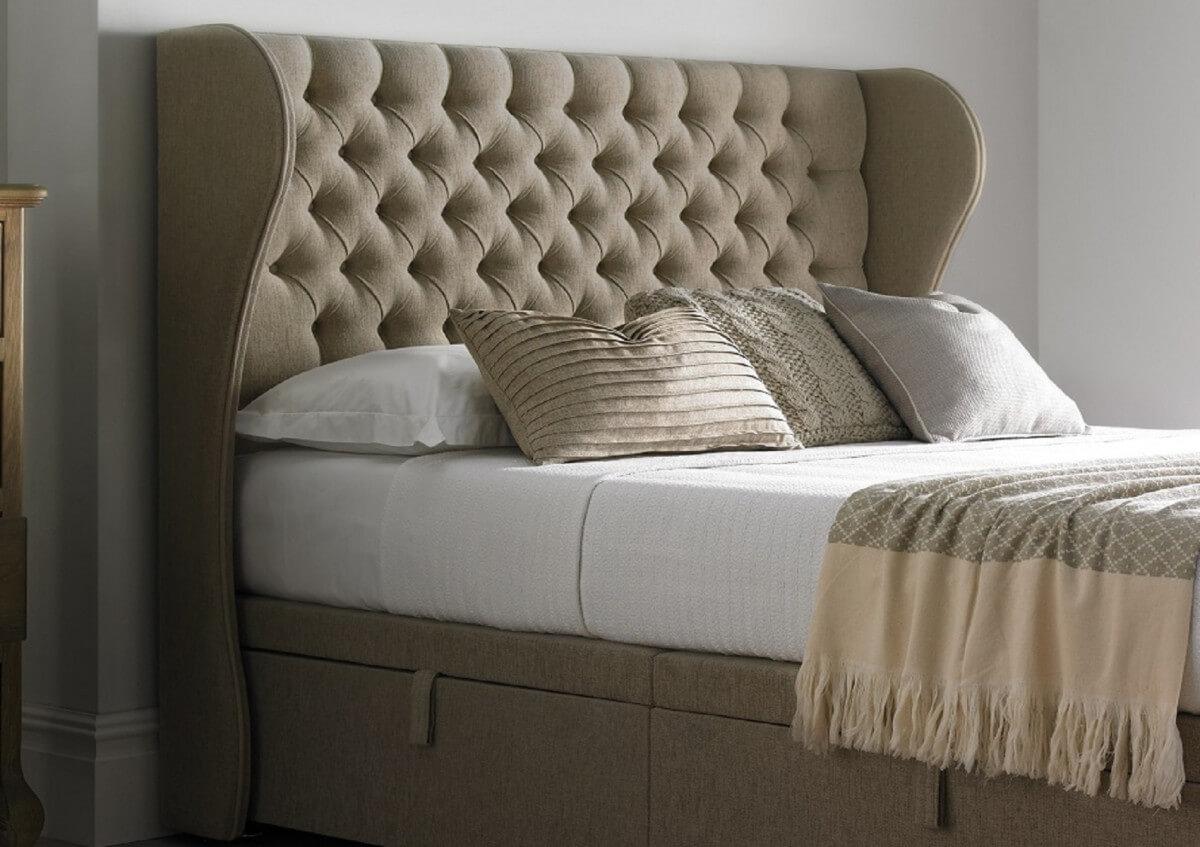 На фото: дизайнерская кровать