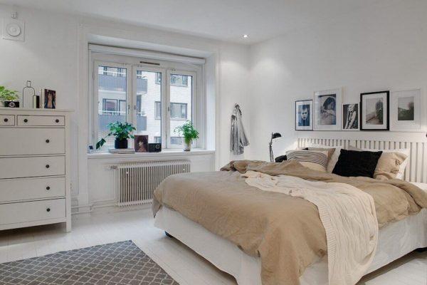 На фото: мебель для спальни в скандинавском стиле