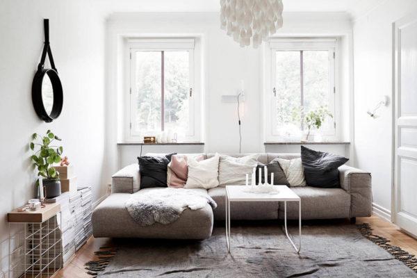 На фото: интерьер в скандинавском стиле