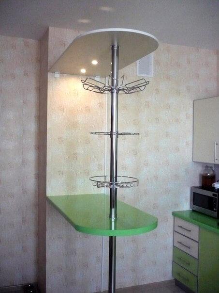 На фото: барная стойка для кухни