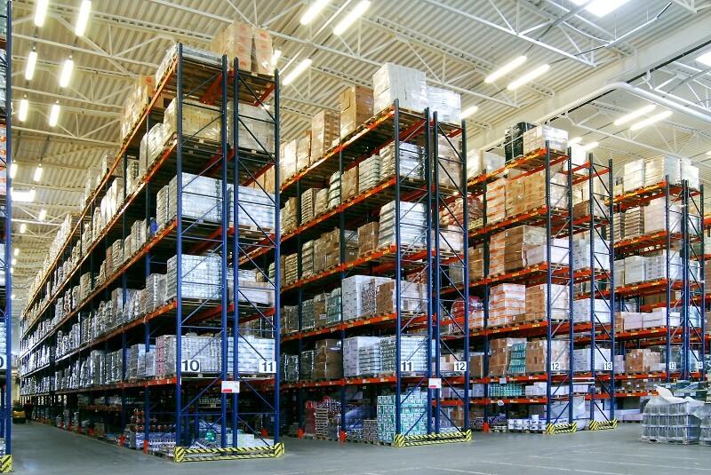 Системы хранения для склада