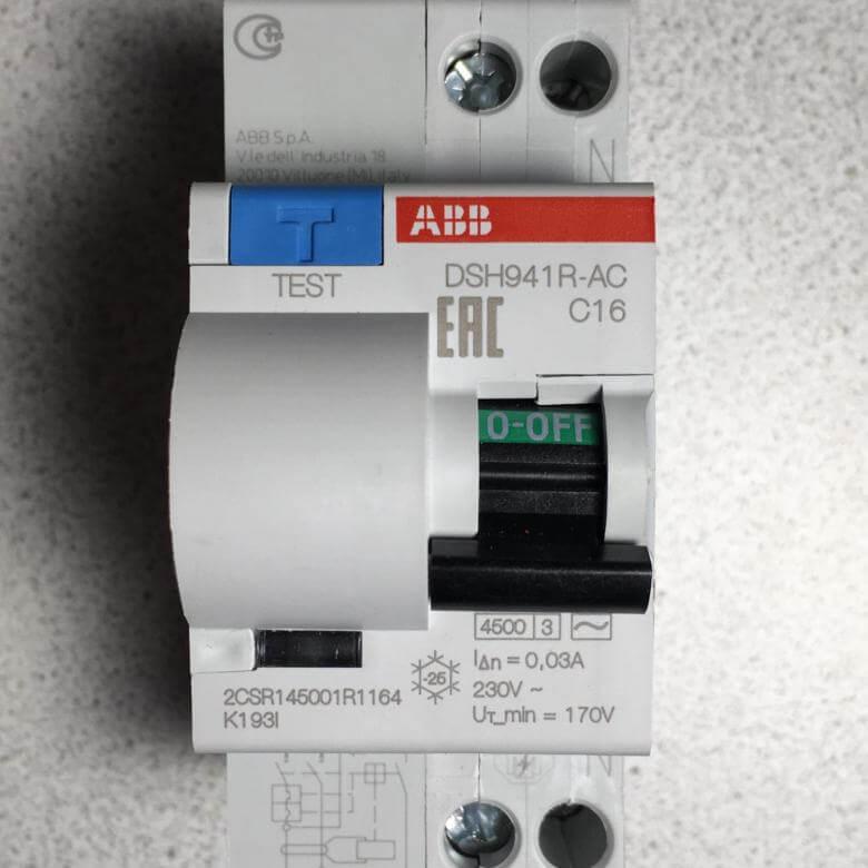 ДИФ Дифференциальные автоматические выключатели ABB серии DSH DS