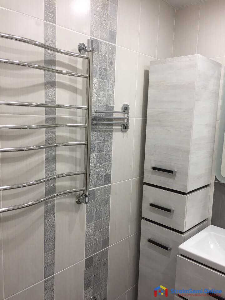 На фото: ремонт в ванной своими руками