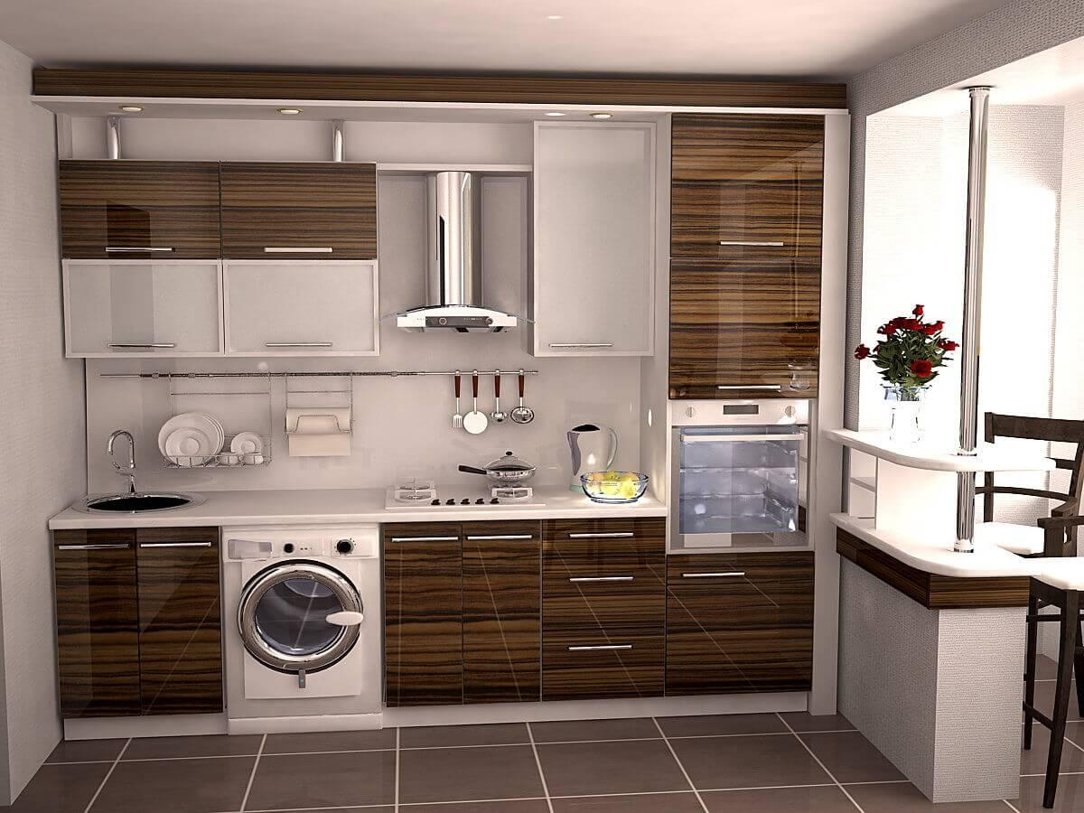 На фото: дизайн-проект кухни