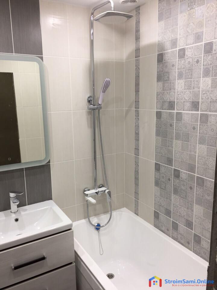 Ремонт в ванной (фото)