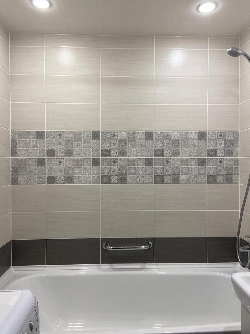 На фото: ремонт в ванной