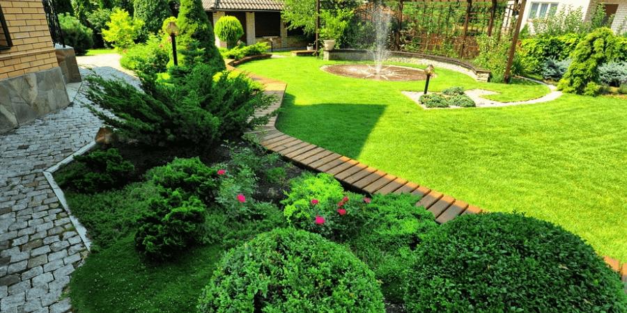Ландшафтные работы весной