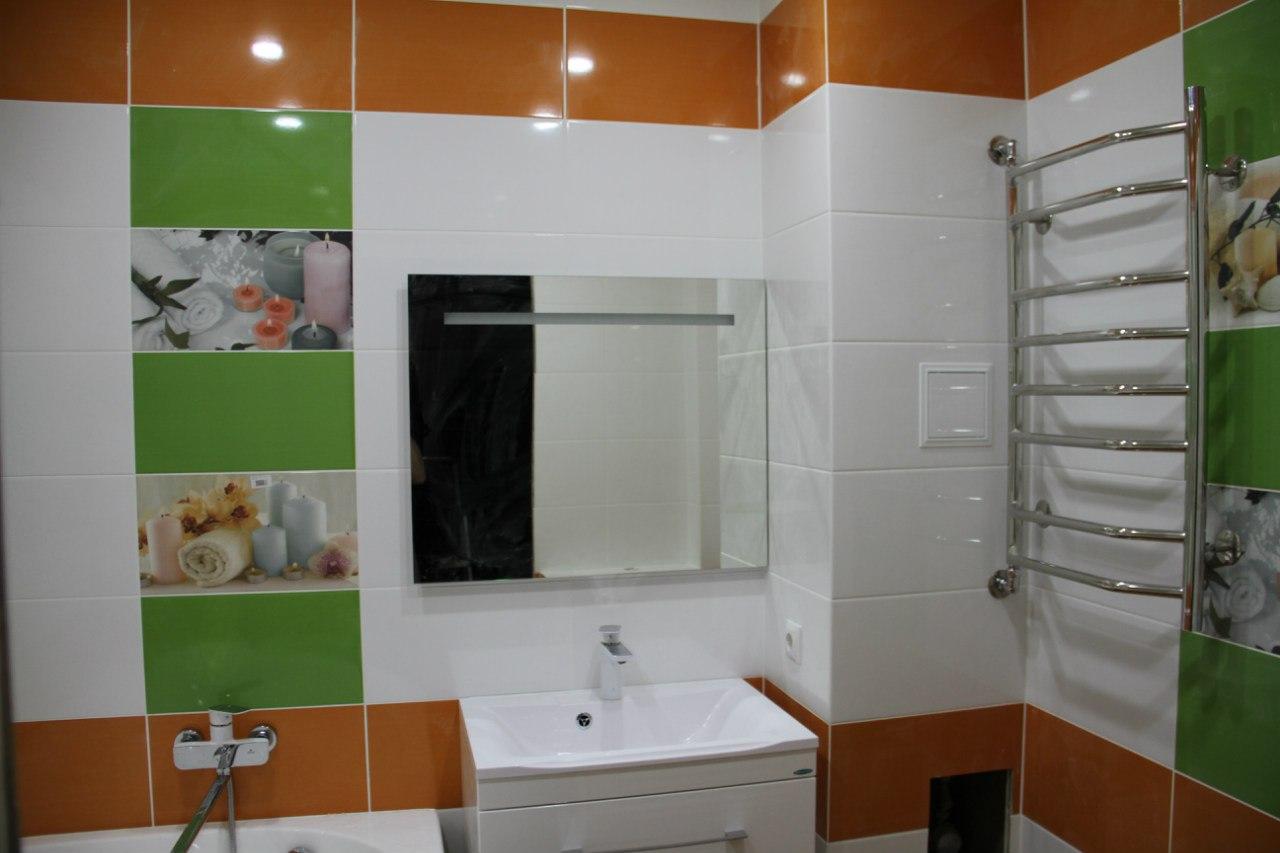На фото: ремонт в ванной комнате