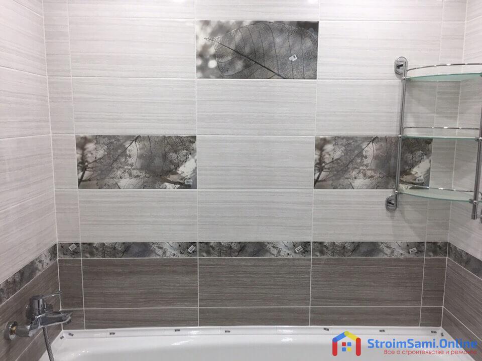 На фото: ремонт в ванной в 9 этажном панельном доме