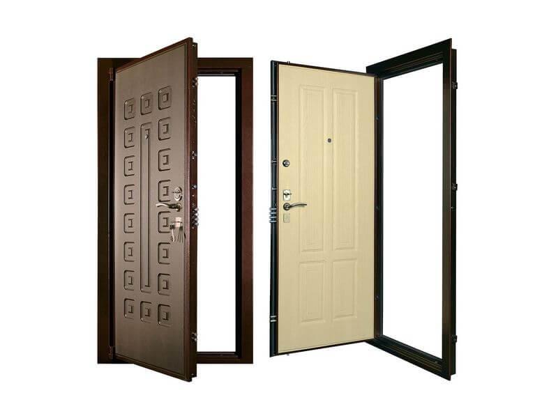 На фото: двери