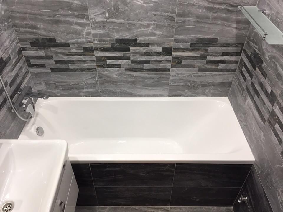 На фото: новый ремонт в ванной комнате