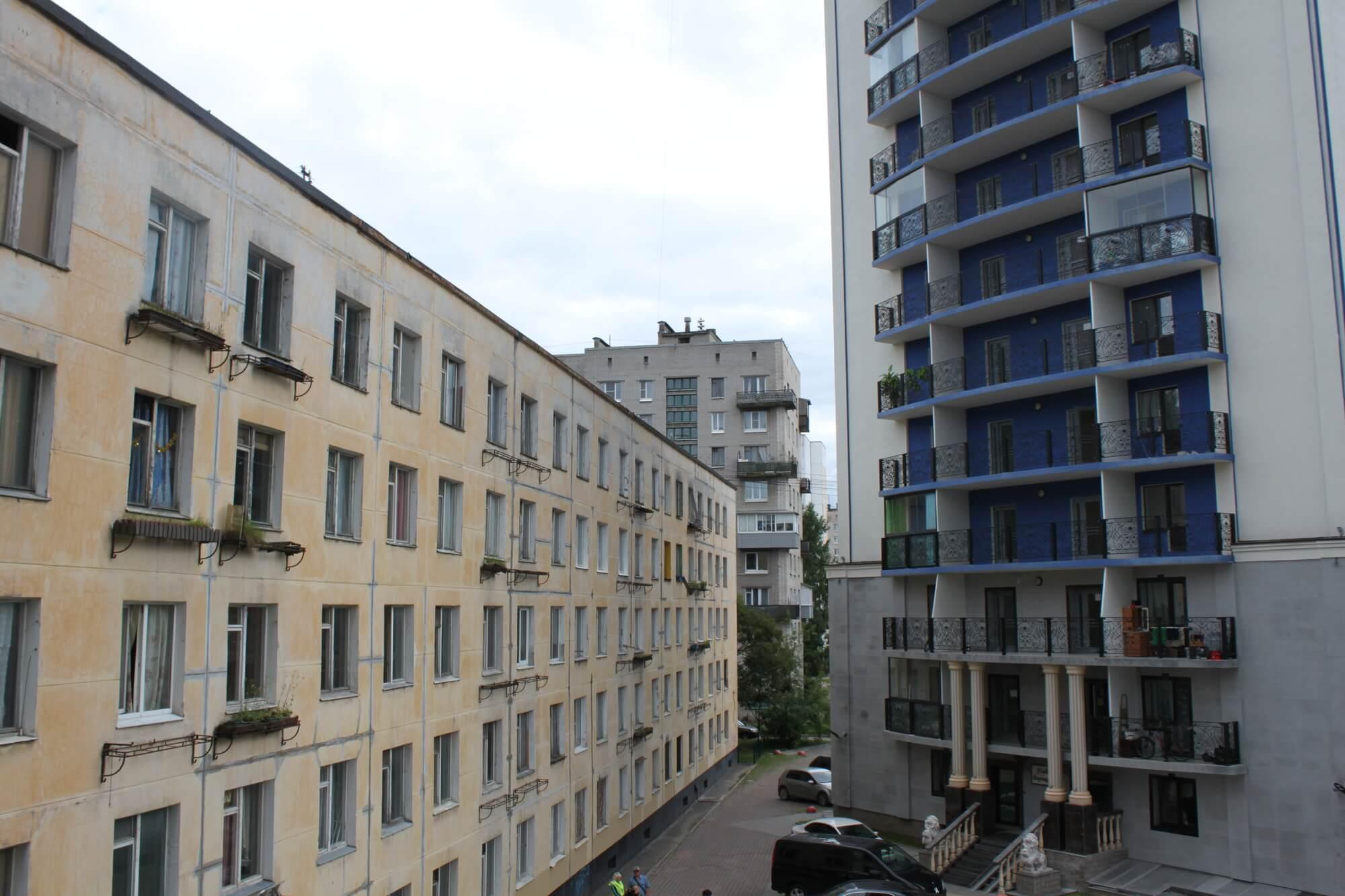 Реновация хрущевок в Санкт-Петербурге