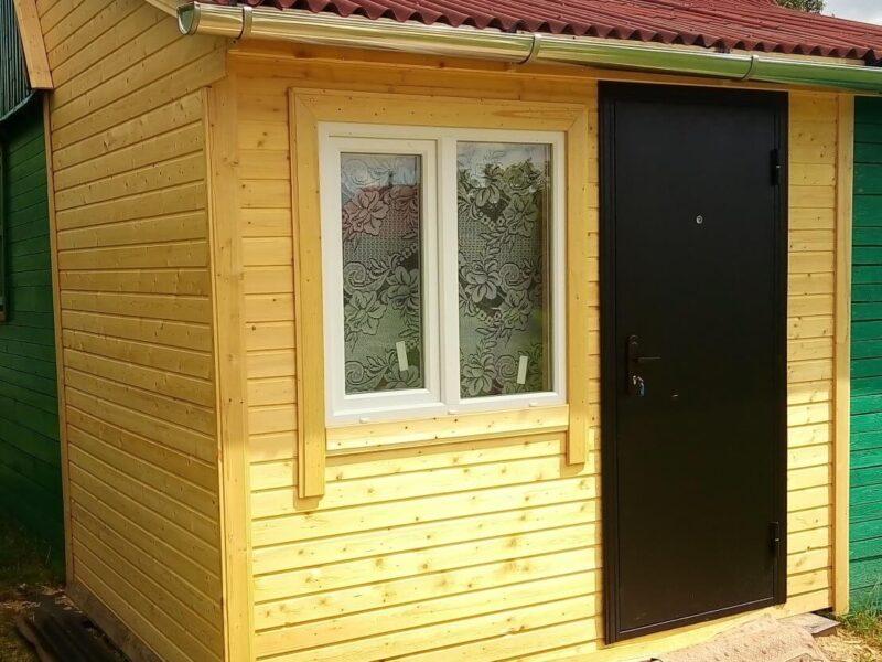 На фото: обшивка стен вагонкой снаружи