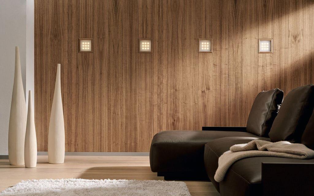 На фото: стеновые МДФ панели в интерьере