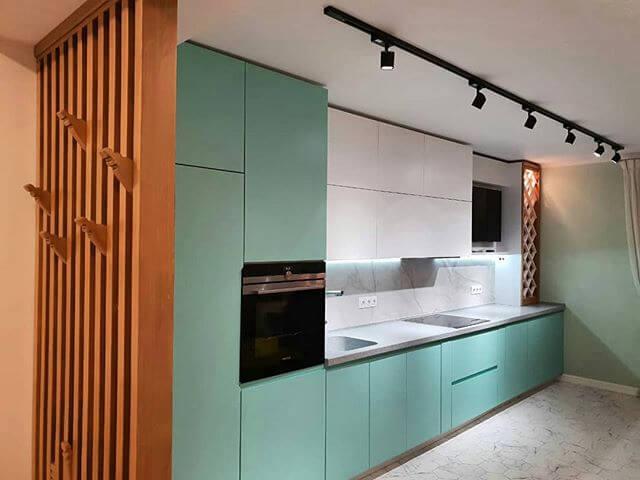 На фото: дизайн кухни в современном стиле