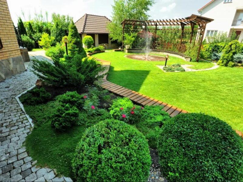 Советы об организации ландшафтного дизайна на придомовой территории
