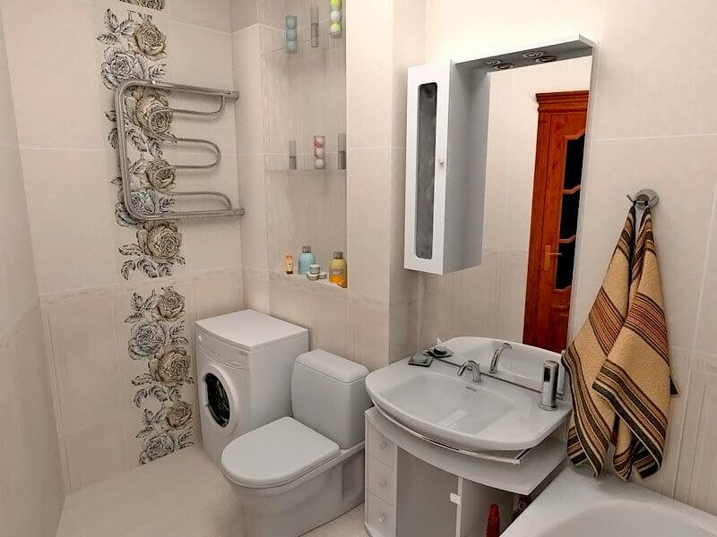 Освещение в ванной комнате: фото примеры
