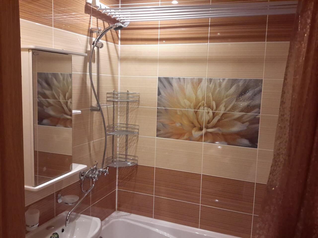 Ремонт в ванной комнате маленького размера