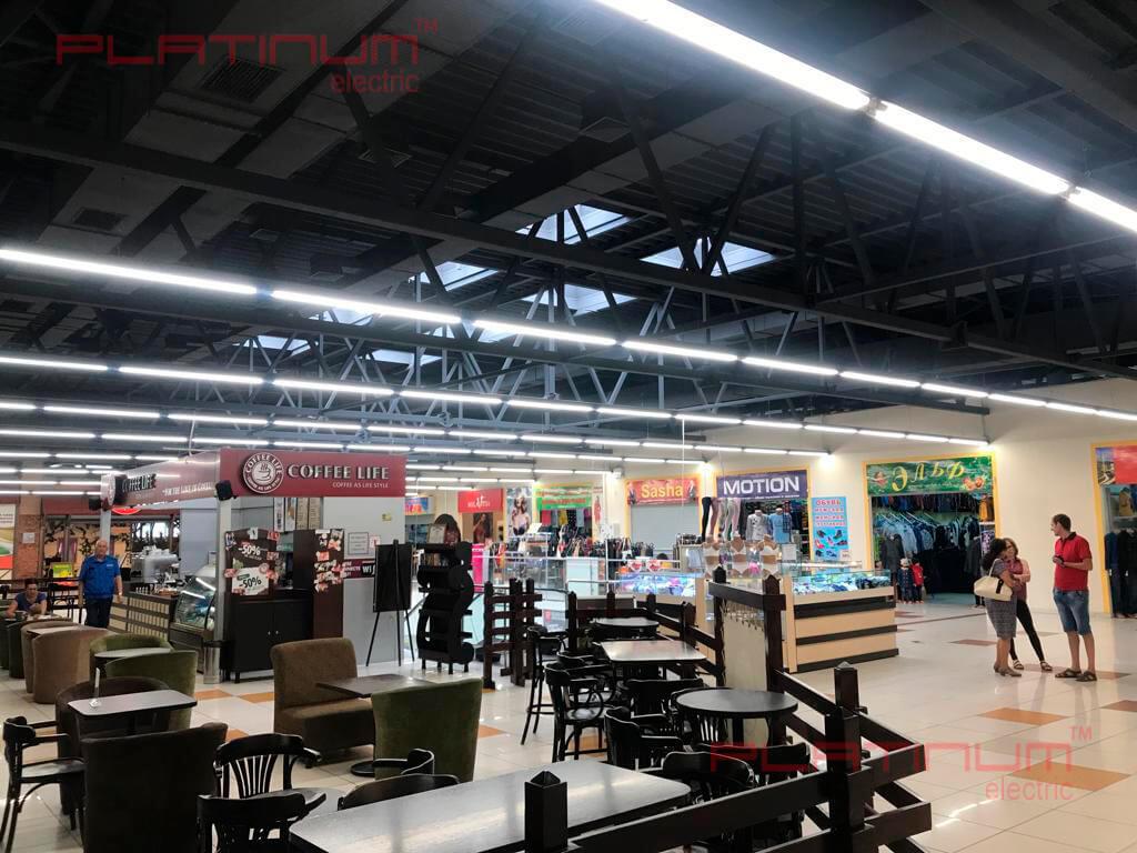 На фото: промышленное светодиодное освещение / Источник фото: ptukr.com
