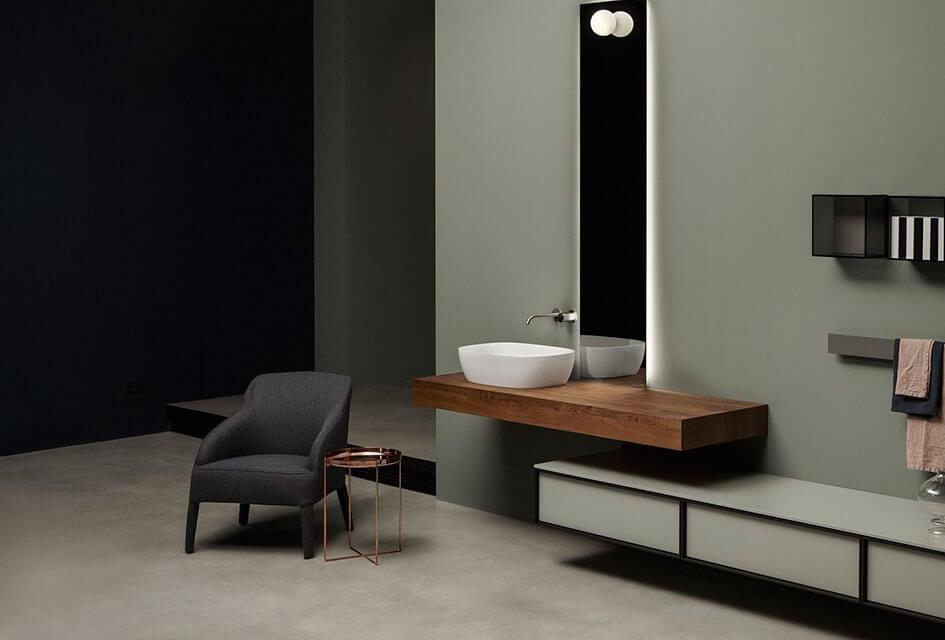 Мебель для ванной комнаты от фабрики Antonio Lupi