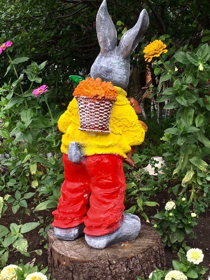 На фото: гипсовые садовые фигурки / Источник фото: taiga-ufa.ru