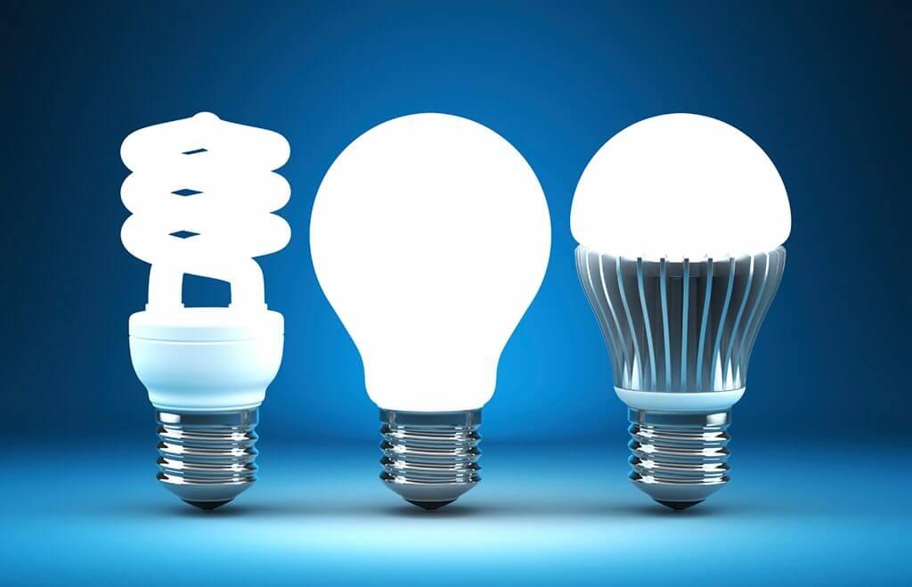На фото: светодиодные лампы