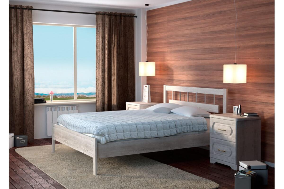На фото: кровать для спальни