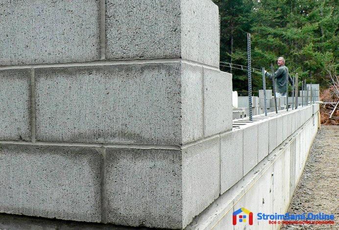 На фото: газобетонные блоки