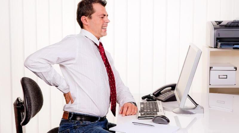 Офисное кресло для работы за компьютером