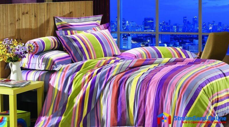 На фото: постельное белье