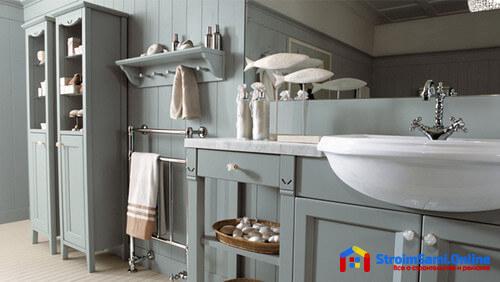 Аксессуары для оформления ванной комнаты